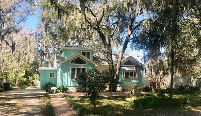 Lady's, Lady's Island, Lady'sisland, Ladys Island Single Family Home For Sale: 76 Meridian Road