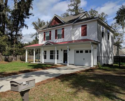 Beaufort Single Family Home For Sale: 23 Spearmint Circle