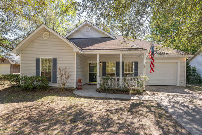 Beaufort County Single Family Home For Sale: 11 Cedar Crest Circle