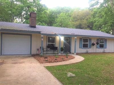 Beaufort County Single Family Home Under Contract - Take Backup: 3 Wiggins Road