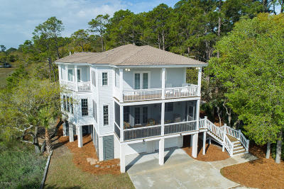 Beaufort County Single Family Home For Sale: 362 Speckled Trout Road