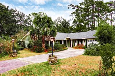 Beaufort County Single Family Home For Sale: 6037 Creek Road