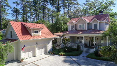 Beaufort County Single Family Home For Sale: 833 Island Circle W