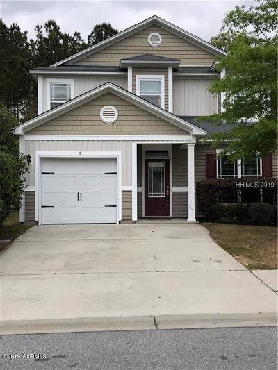Bluffton Single Family Home For Sale: 9 Isle Of Palms