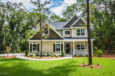 Beaufort County Single Family Home For Sale: 243 Green Winged Teal Drive S