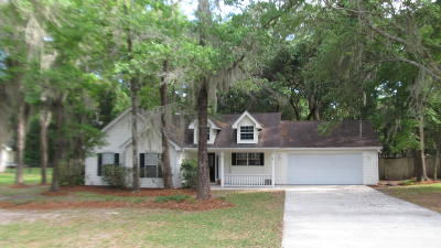 Beaufort, Beaufort Sc, Beaufot Single Family Home For Sale: 13 Brickyard Hills Drive