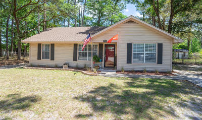 Beaufort Single Family Home Under Contract - Take Backup: 24 Robin Way
