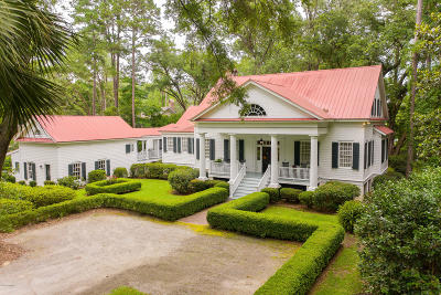 Beaufort County Single Family Home For Sale: 123 Bull Point Drive