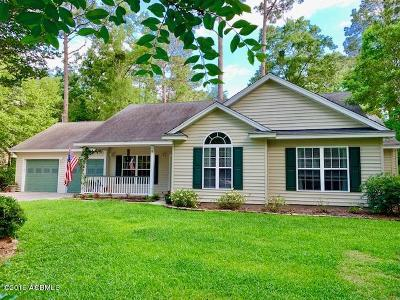 Beaufort County Single Family Home Under Contract - Take Backup: 9 Jasper Lane