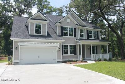Beaufort Single Family Home For Sale: 18 Sandpiper Drive