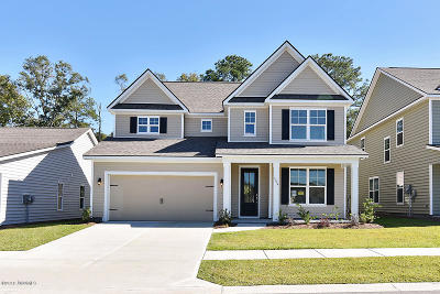 Beaufort Single Family Home For Sale: 4255 Sage Drive