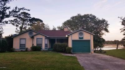 Beaufort Single Family Home For Sale: 3045 Ratel Circle
