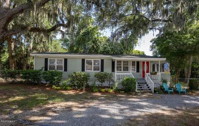 Beaufort (lady's Island), Port Royal, Pt Royal, Pt. Royal Single Family Home For Sale: 1832 Venus Lane