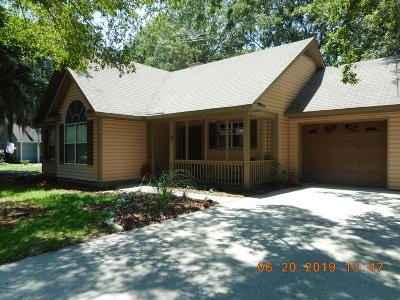 Beaufort County Single Family Home For Sale: 12 Marsh Drive