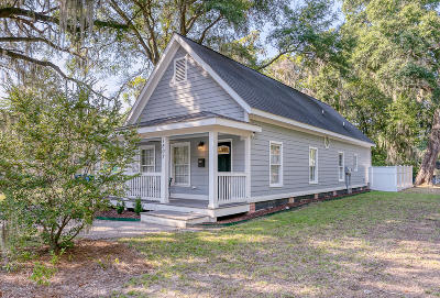 Beaufort, Beaufort Sc, Beaufot Single Family Home For Sale: 1507 Washington Street