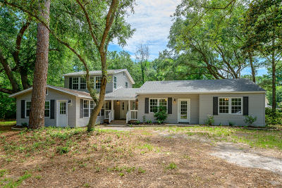 Beaufort County Single Family Home For Sale: 438 Sams Point Road