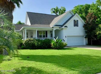 Beaufort, Beaufort Sc, Beaufot Single Family Home For Sale: 14 W National Boulevard