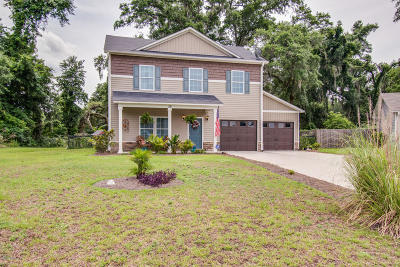 Beaufort Single Family Home For Sale: 39 Spearmint Circle