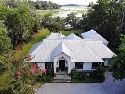 Baufort, Beaufort, Beaufot, Beufort Single Family Home Under Contract - Take Backup: 101 N Hermitage Road