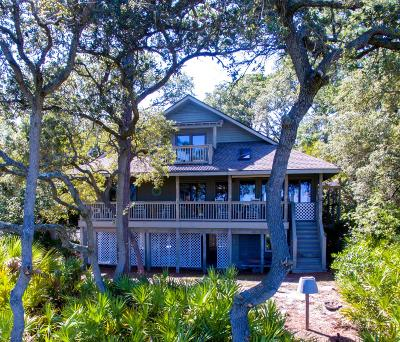 Beaufort County Single Family Home For Sale: 55 Ocean Marsh Lane
