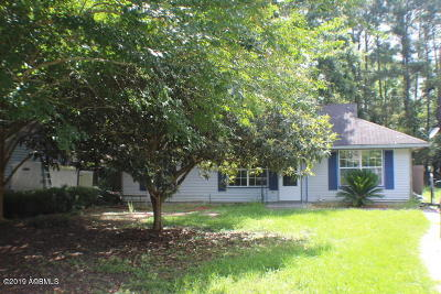 Beaufort Single Family Home For Sale: 45 Burlington Circle