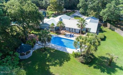 Beaufort Single Family Home Under Contract - Take Backup: 5 Mallard Court