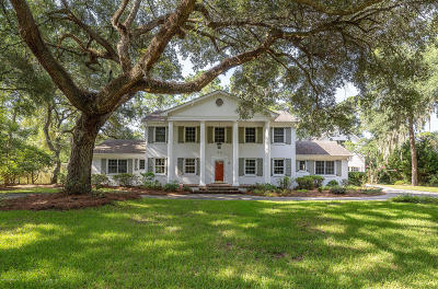 Beaufort Single Family Home For Sale: 3 Sandy Ridge Road