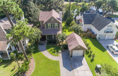 Beaufort Single Family Home For Sale: 65 Tanglewood Drive
