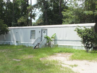 Beaufort Mobile Home Under Contract - Take Backup: 127 Falls Road