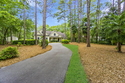 Beaufort County Single Family Home Under Contract - Take Backup: 693 Sams Point Road