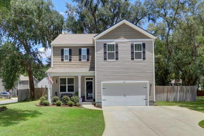 Beaufort County Single Family Home Under Contract - Take Backup: 4887 Tidal Walk Lane