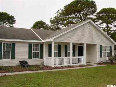 Beaufort SC Single Family Home For Sale: $174,900