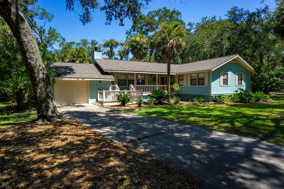 Fripp Island Single Family Home For Sale: 502 Remora Drive