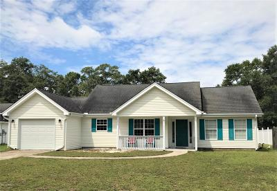 Beaufort SC Single Family Home For Sale: $199,900