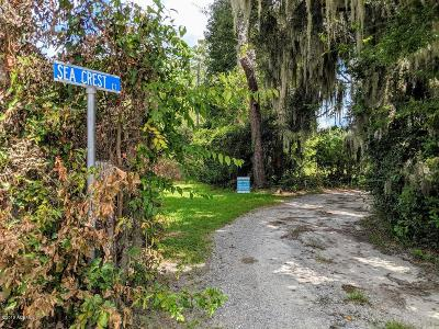 Seabrook Residential Lots & Land For Sale: 3 Sea Crest Court