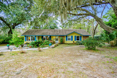 Beaufort Single Family Home For Sale: 401 Broad River Drive