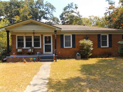 Beaufort Single Family Home For Sale: 1601 Palmetto Drive