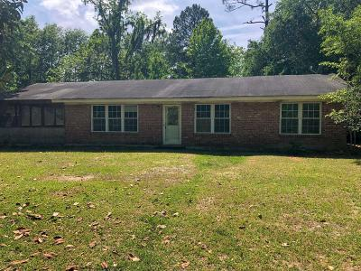 Single Family Home For Sale: 4149 Firetower Road