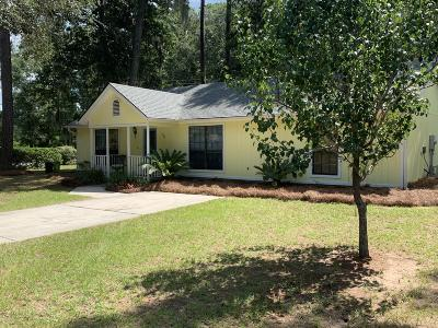 Beaufort SC Single Family Home For Sale: $196,500