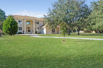 Beaufort County Single Family Home For Sale: 5 Deep Lagoon Court