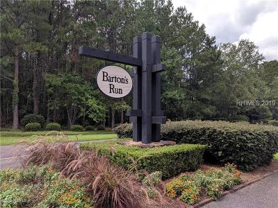 Bluffton Residential Lots & Land For Sale: 30 Bartons Run Drive