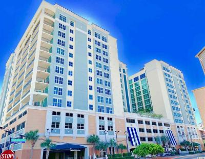 North Myrtle Beach Condo/Townhouse For Sale: 603 S Ocean Blvd, #809 #809