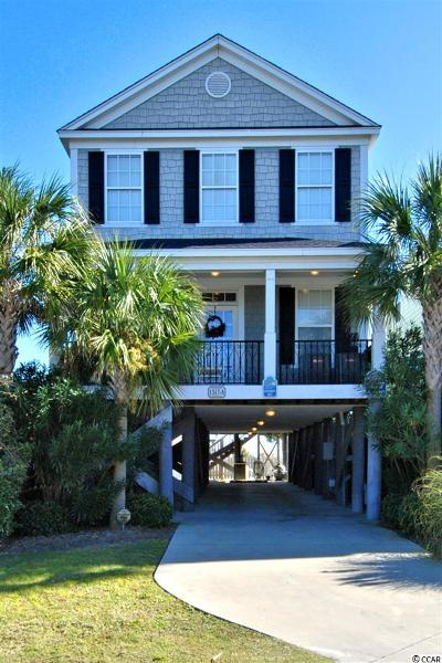 Surfside Beach Single Family Home For Sale: 1517a N Ocean Blvd.