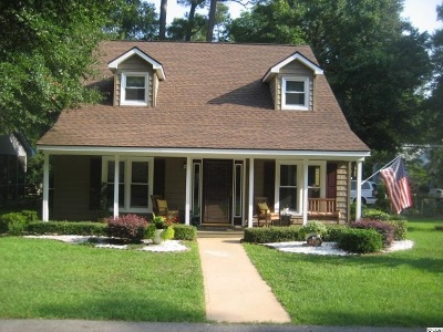 Little River SC Single Family Home Sold-Co-Op By Ccar Member: $174,000
