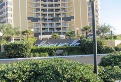 Myrtle Beach SC Condo/Townhouse Sold: $469,000