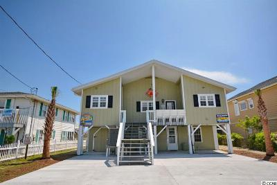 North Myrtle Beach Single Family Home For Sale: 5906 N Ocean Blvd.