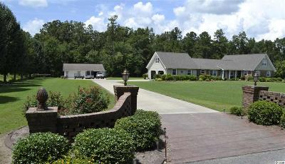 Aynor SC Single Family Home Sold-Co-Op By Ccar Member: $335,300