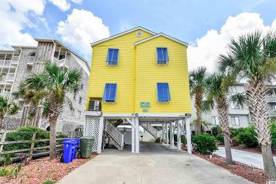 Surfside Beach Single Family Home For Sale: 1019a N Ocean Boulevard
