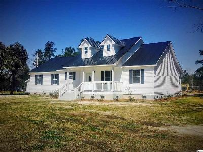 Conway SC Single Family Home Sold-Co-Op By Ccar Member: $213,000
