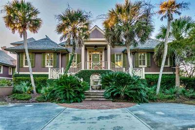 Georgetown Single Family Home For Sale: 522 Debordieu Blvd